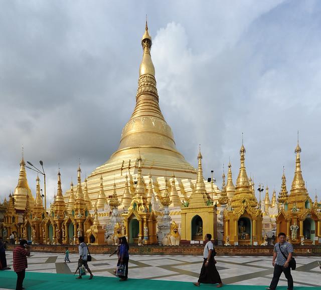 Shwedagon Paya, Yangon, Myanmar (Birmania) D700 353