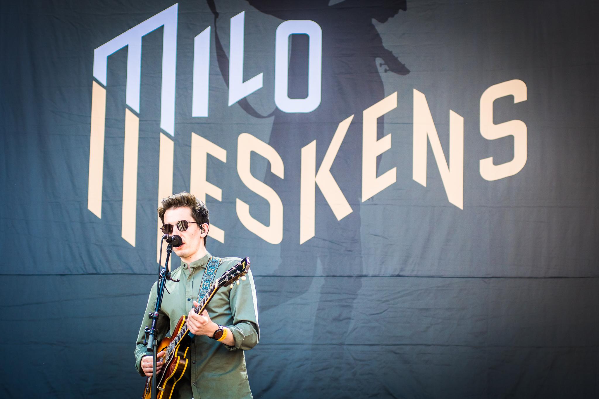 Milo Meskens @ Suikerrock 2018 (© Timmy Haubrechts)