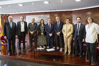 Debat amb els representants dels candidats a l'Ajuntament de Barcelona.  Fotos: Sergi Alcàzar