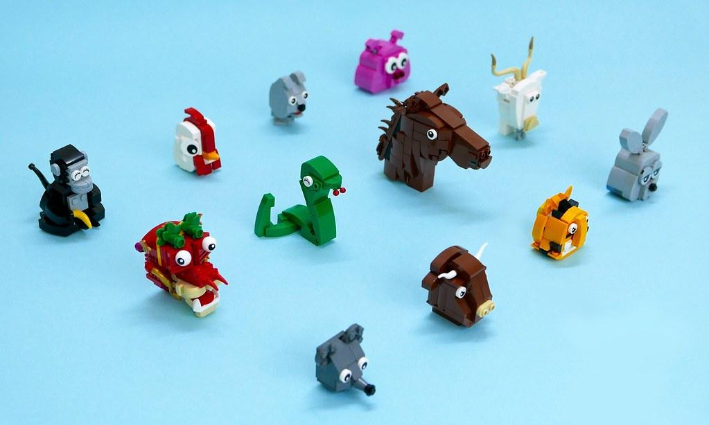 12 Chinese Zodiac.