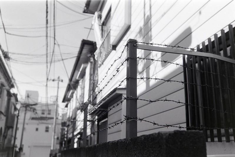 013LeicaM2 Summaron 35mm f35 Kodak 400TX池袋一丁目