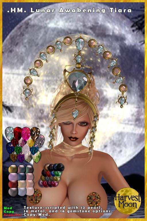 Harvest Moon – Lunar Awakening Tiara