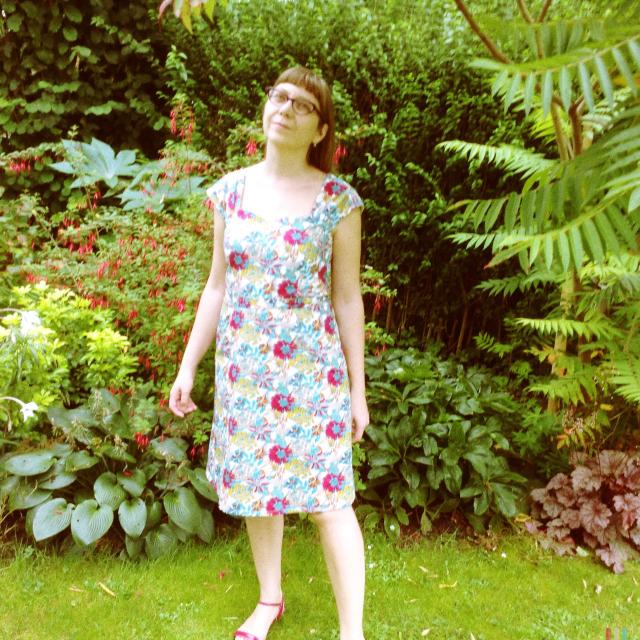"The ""I look like Liberty fabric"" dress"