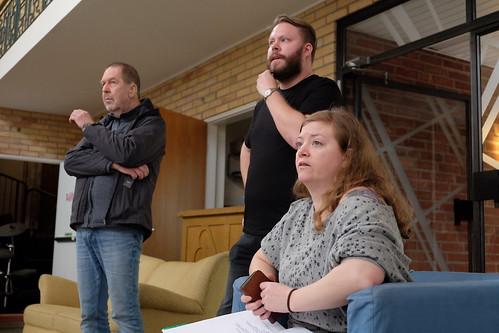 Lasse Petersson, Jakob Sjöberg och Josefine Willén