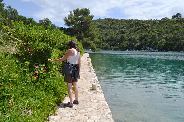 Island walking, Mljet, Croatia