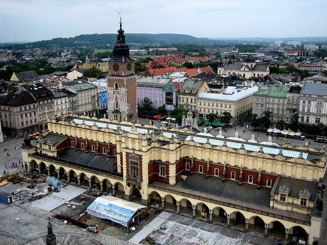 La Plaza del Mercado de Cracovia