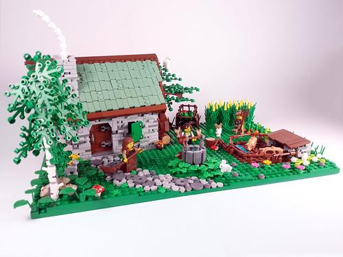 Medieval farm