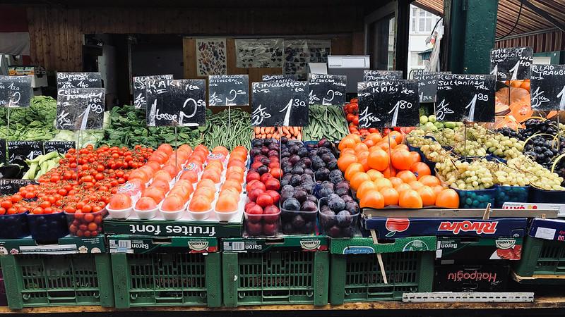 Vienna vegetable market