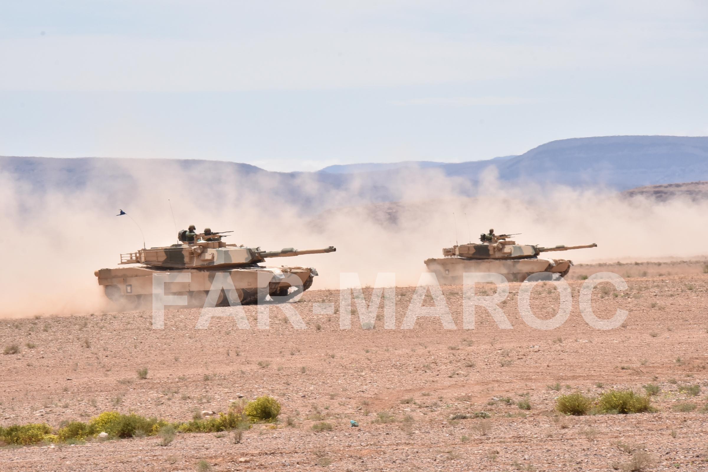 M1A1 SA ABRAMS Marocains / Moroccan M1A1 SA ABRAMS 47797777781_fe813357d1_o