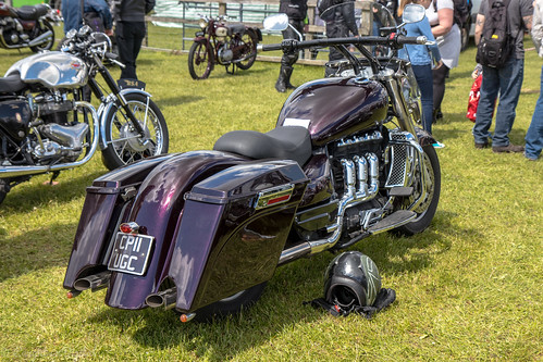 Stonham Barns Bike Show-Triumph Rocket 3