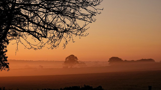 Sunrise across Derbyshire. May 2019