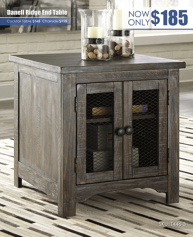 Danell Ridge End Table_T446-3
