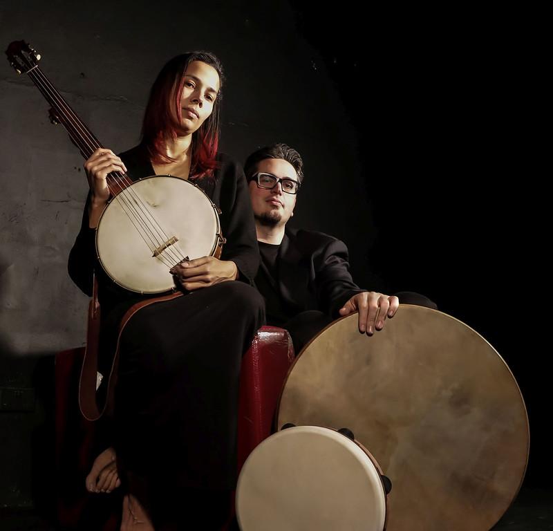 Rhiannon Giddens with Franceso Turri