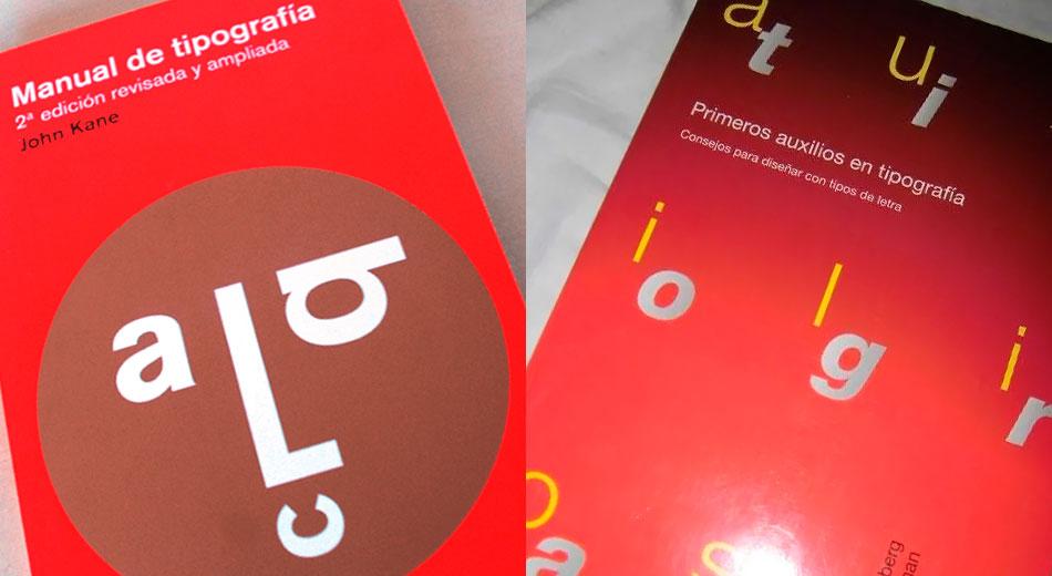 """2 libros gratuitos esenciales en Tipografía: """"Primeros auxilios en tipografía"""" y """"Manual de Tipografía"""""""
