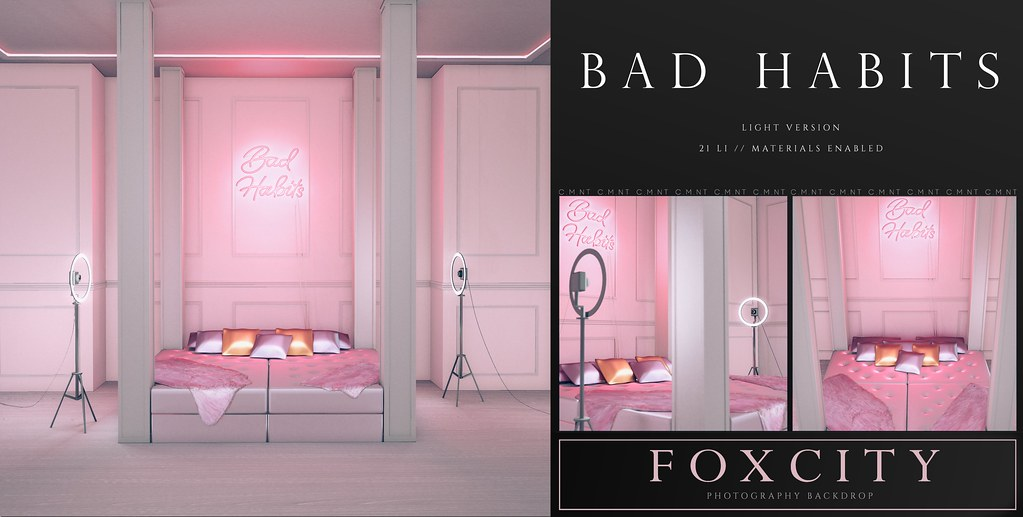 FOXCITY. Photo Booth – Bad Habits (Light)