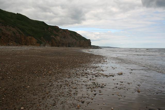 The beach at Crimdon