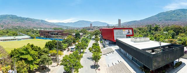 Al norte de Medellín