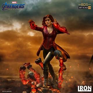 「你奪走了我的一切」Iron Studios Battle Diorama 系列《復仇者聯盟:終局之戰》緋紅女巫 Scarlet Witch 1/10 比例決鬥場景雕像作品