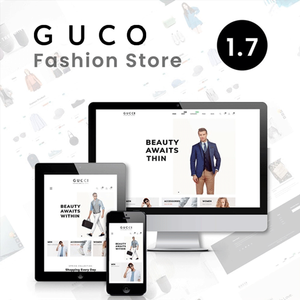 Gucci - Fashion PrestaShop Theme  - Fashion & Shoes