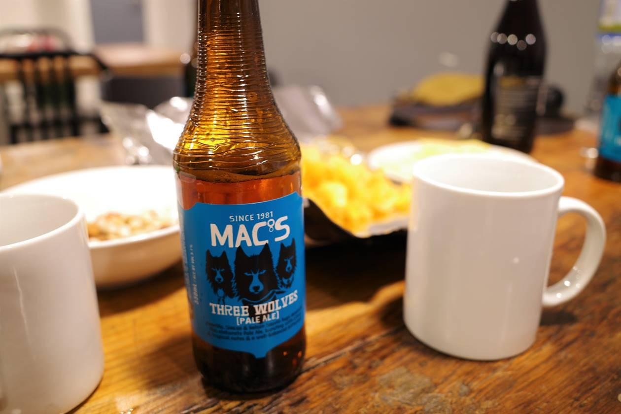 ニュージーランドビール MAC'S