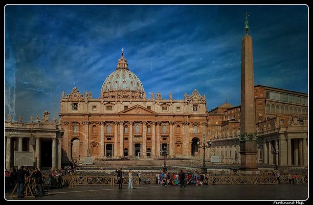 Roma_Città del Vaticano_Basilica di San Pietro_Piazza San Pietro