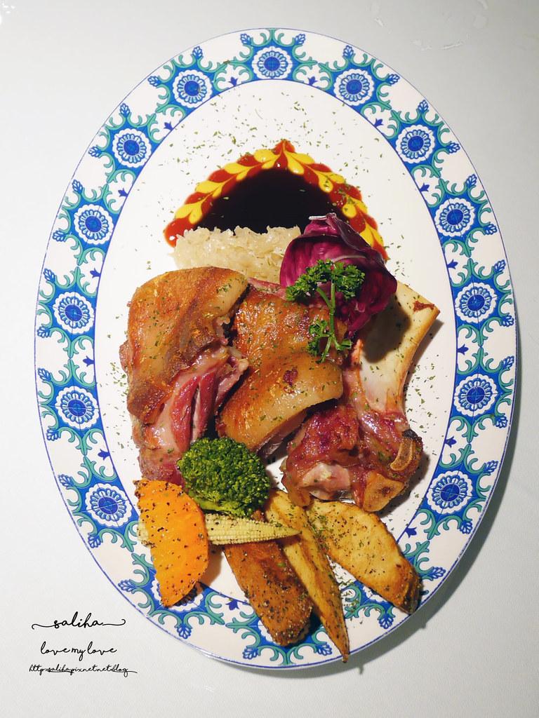 桃園火車站附近美食推薦BG德國農莊TeaBar好吃德國豬腳排餐約會餐廳 (2)