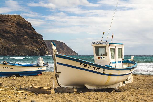 Spain - Almeria - Nijar - Las Negras beach