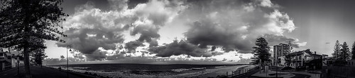 adelaide australia bw glenelg sa southaustralia clouds coast panorama sky sunrise