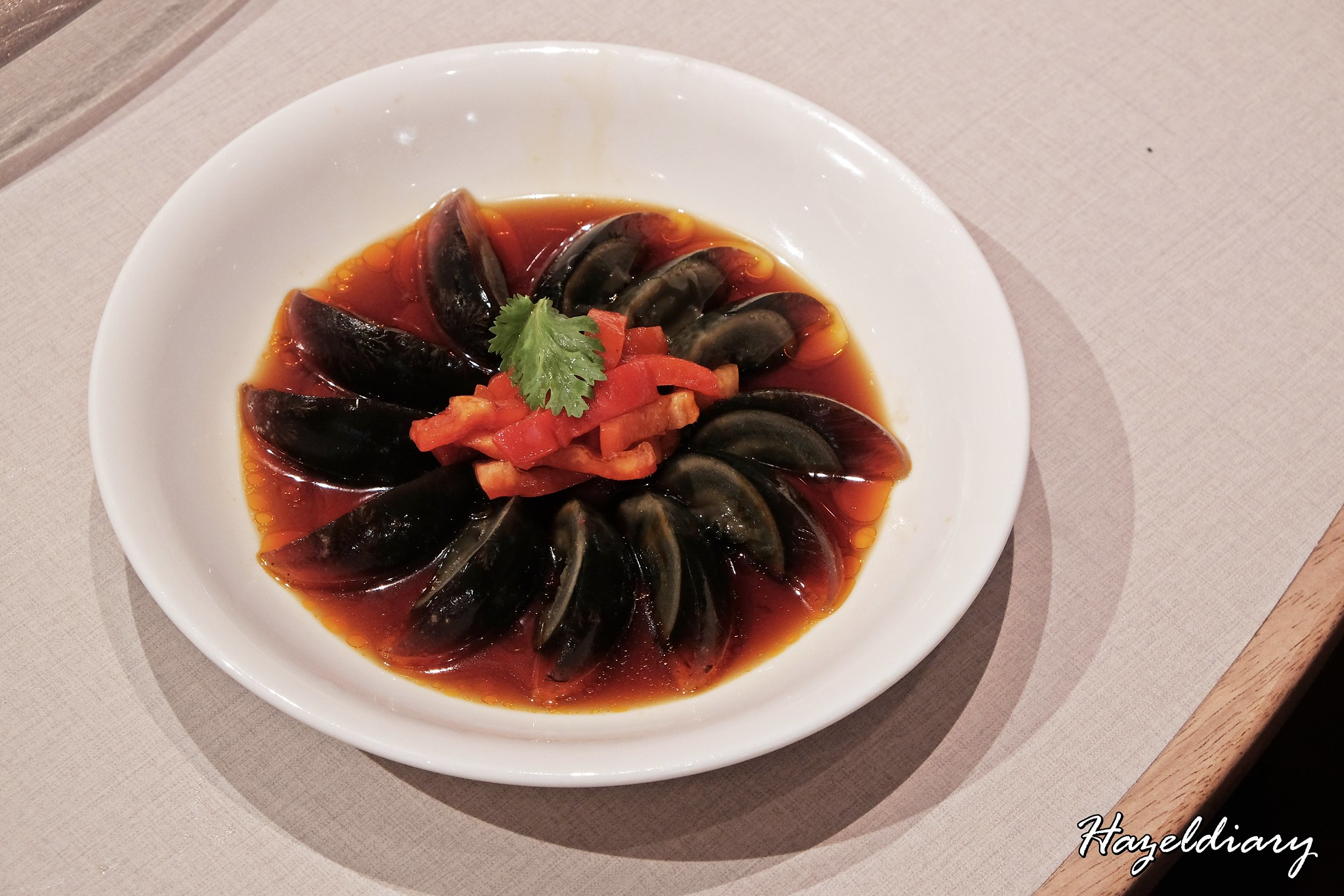 Paradise Dynasty Suntec City Outlet-Century Egg