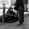 Homeless:   'Every little helps....'   (2 of 3).  (#48 Explore) by +Pattycake+