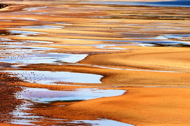 Sea and Sand in Abstract, Ardrossan Beach, South Australia