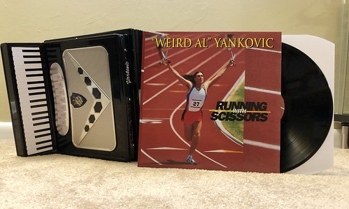 Quot Weird Al Quot Yankovic Running With Scissors Lp From Sque