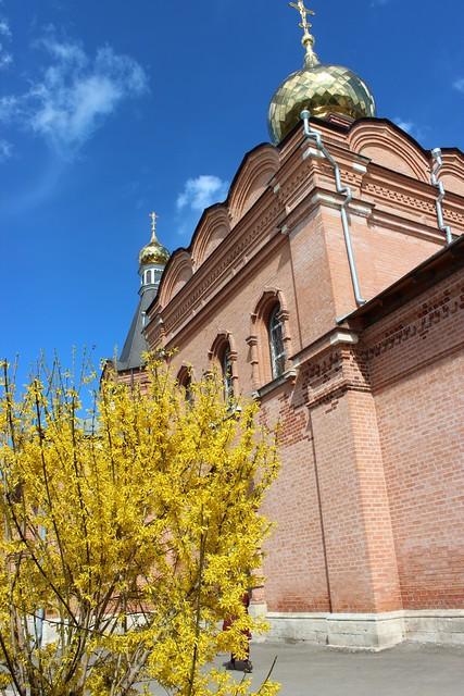 Пасхальный праздник в Казанском храме в Сосенках