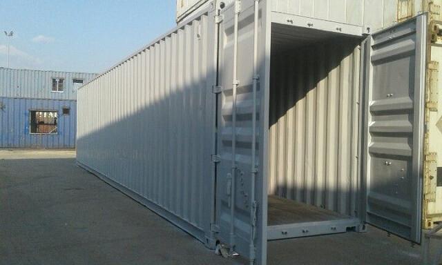 Container 40 feet có tải trọng lớn, lưu trữ được nhiều hàng hóa