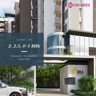 3 bhk apartments in Thoraipakkam