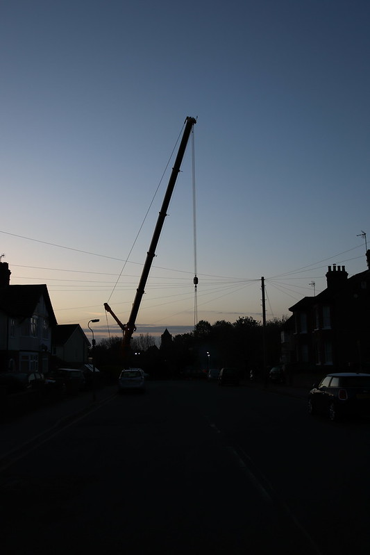 Crane Seen From Southcourt Avenue