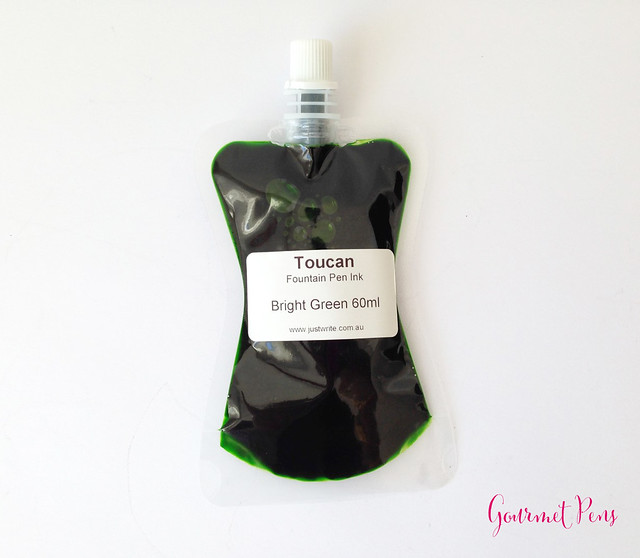 Toucan Bright Green Ink Review 8