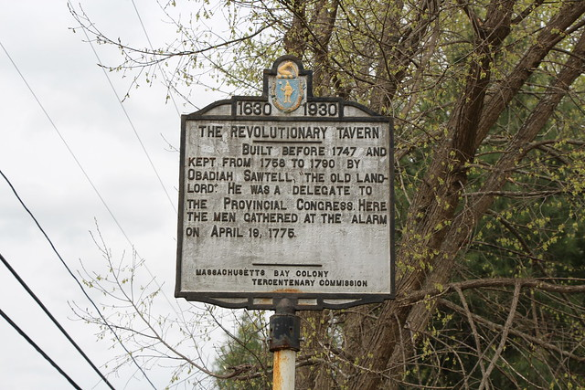 Massachusetts Bay Colony Tercentenary Commission Marker
