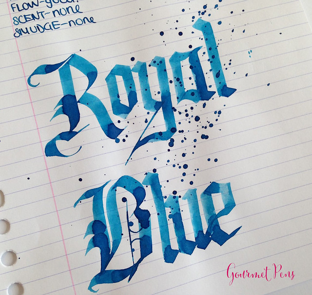 Toucan Royal Blue Ink Review 6