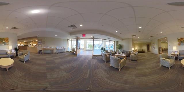 Tevis Center Lobby