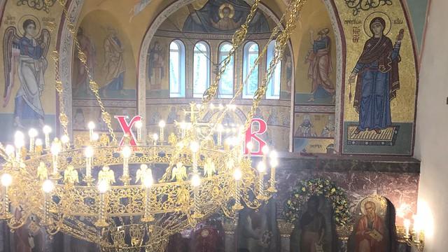 Архиепископ Каширский Феогност возглавил богослужение в храме Рождества Христова в г. Фрязино