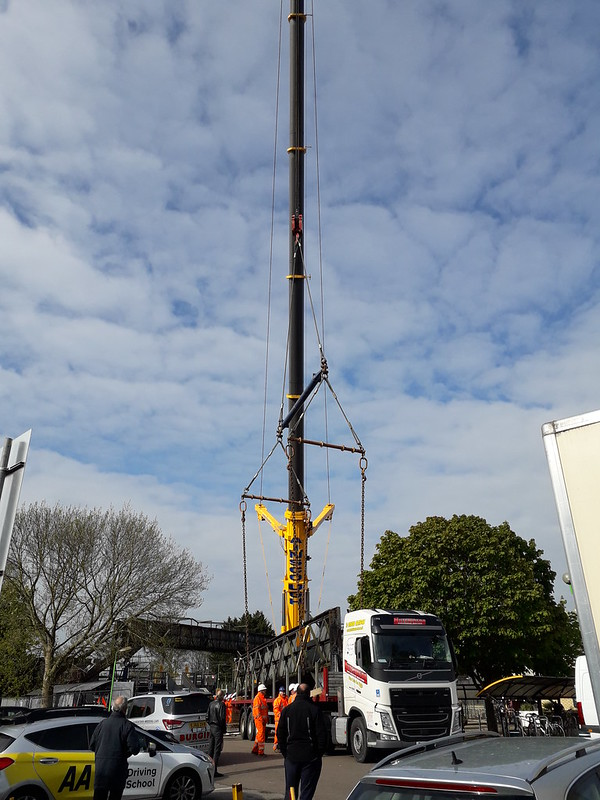 Fast LIne Span Loaded onto Lorry