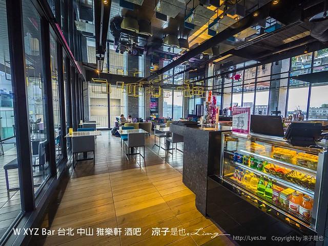 W XYZ Bar 台北 中山 雅樂軒 酒吧 38