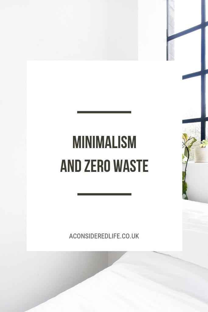 Minimalism and Zero Waste