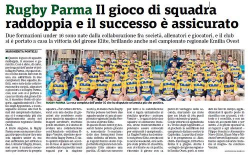 Gazzetta di Parma 15.05.19 - UNDER 16