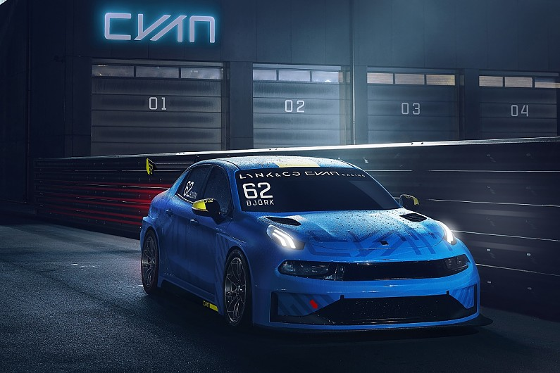 Lynk Co 03 Cyan Racing Concept