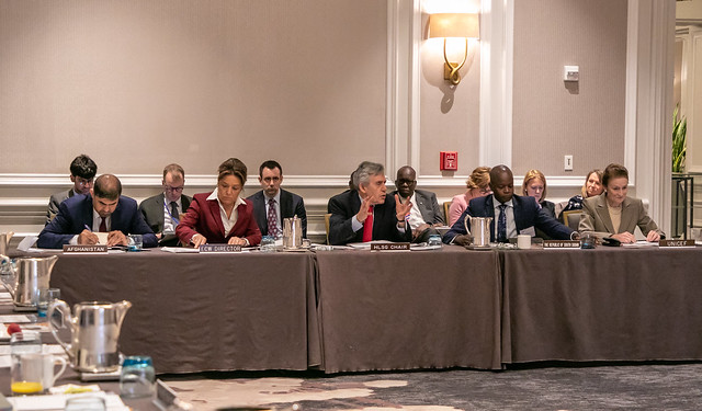 ECW High-Level Steering Group meeting April 2019
