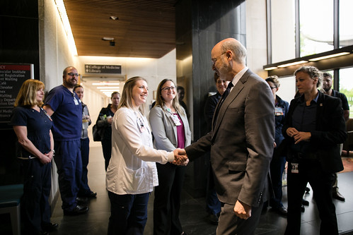 Gov. Wolf Recognizes Nurses at Penn State Health Milton S. Hershey Medical Center National Nurses Week Event