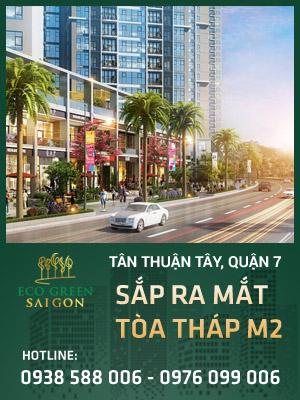 Dự án căn hộ Eco-Green Sài Gòn mở bán tòa tháp M2
