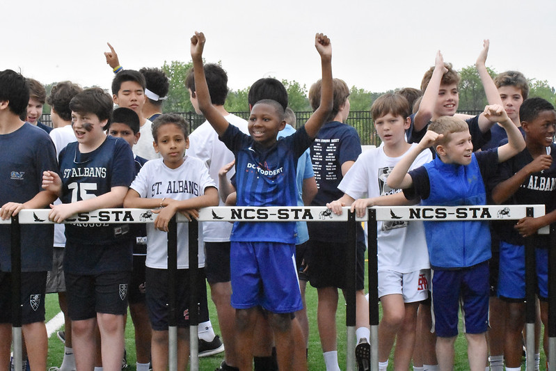 Scenes from the 109th Blue-White Field Day